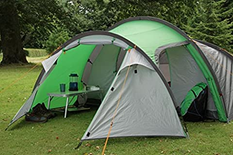 Coleman Cortes 4-Person Lightweight Outdoor Camping Family Tent with Carry Bag