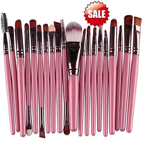 99L'amour Pinceau de maquillage pas cher de haute qualité,Professional 15Pièces Maquillage Set de Brosse Maquillage Kit de Toilette Set de Brosse (Rose)