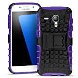 Conie Samsung Galaxy S3 Mini Outdoor Hülle - Case in Grün Extra Schutz, Robuste Galaxy S3 Mini Schutzhülle Handyhülle Cover Silikonhülle Rückschale Galaxy S3 Mini (4,0 Zoll)