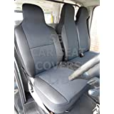 Furgoneta VW Transporter T4, 1999, fundas para asientos–gris, Single + doble del Indo