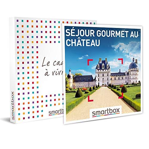 SMARTBOX - Coffret cadeau - Séjour gourmet au château - idée cadeau - 1 nuit avec...