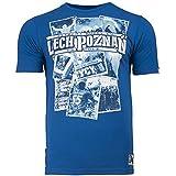 Extreme Hobby Fanswear Camiseta KKS Lech Poznań camiseta Lech Poznan en tour. Kibolski Klub Sportowy Kolejorz Pulido Fútbol fanáticos. Gamberro. fútbol Seguidores