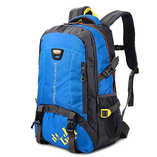 BUSL Schultern männlich Outdoor-Sport-Camping Wandern Rucksack Bergsteigen Taschen 40L große Kapazität Tasche Frauen Reisen a