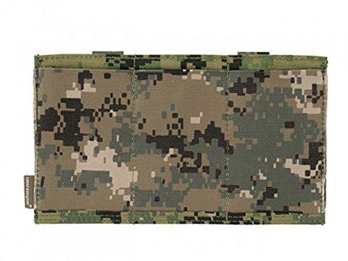 Emerson Airsoft Tactical MOLLE Triple M4Elastic Magazintasche, Aor2, moscart, BB Grenade
