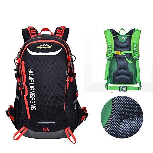 Sincere® Package / Sacs à dos / portable sac à bandoulière / Ultraléger Alpinisme / sac à dos étanche / extérieur sac de Voyage de Voyage / sac de sport noir 40L