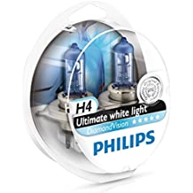 BOMBILLAS MEJORA FARO PHILIPS DIAMOND VISION H4 5000k