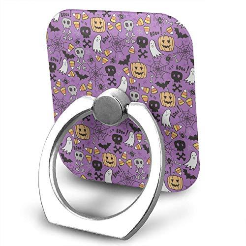oodle with Skulls Bat Ring Phone Holder Bracket Pop Stand Kickstand for Smartphones,Tablets ()