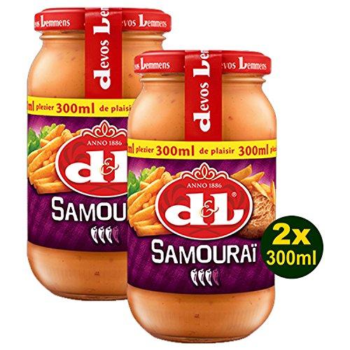 Devos Lemmens D & L Samourai Sauce 2x 300ml (600ml) -...
