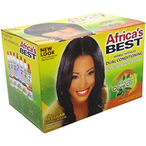Dell' Africa Best Relaxer Regular No-Lye