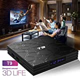 4GB RAM 64GB ROM Smart TV Box Android 8.1 OS T9 4K RK3328 Quad Core USB3.0 Set Top TV Box 2.4G/5.0G Dual WIFI BT LAN Media Player