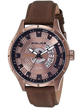 Police Analog Rose Gold Dial Men's Watch-PL14678JSBZ12J