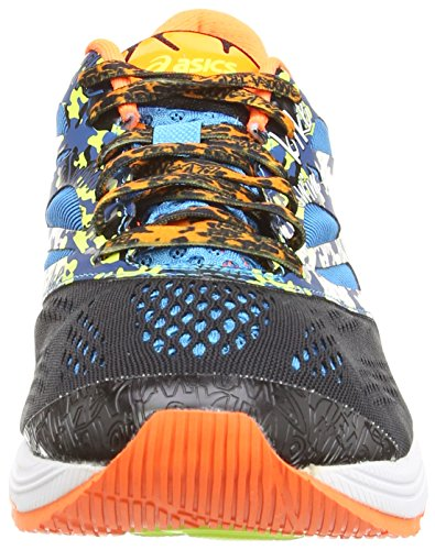Asics Gel-Noosa Tri 10, Scarpe sportive, Uomo Black/Flash Orange/Flash Yellow 9030