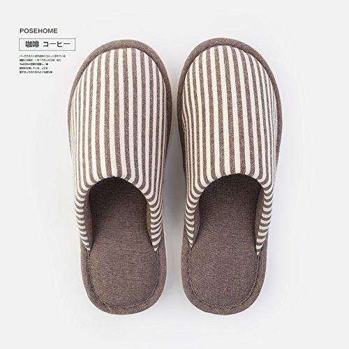 Cotone fankou pantofole inverno maschio pantofole giovane fondo spesso pantofole pantofole caduta femmina Hellrosa