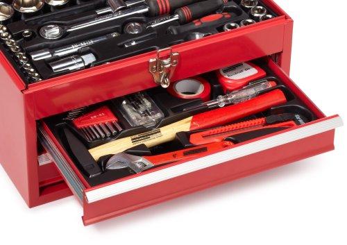 Mannesmann Bestückte Werkzeugbox 155-tlg., M29066 - 3