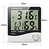 Celebrationgift HTC-1 High Accuracy Lcd Digital Thermometer Hygrometer Indoor Electronic Temperature Humidity Meter