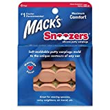 Mack's Snoozers - Maximum Comfort Silicone Putty Earplugs 6 Pairs Box