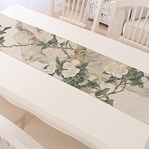 Table Runnertea Table Runner Yamian Tea Mat Linen Tablecloth Tea Tea Flag Table Runner - Original Antique Shop 30*220Cm