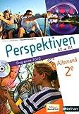 Allemand 2e Perspektiven A2-B1 : Programme 2010 (1CD audio)
