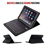 ABOUTTHEFIT iPad 2,3,4 Keyboard Portable Durable ABS Material Wireless Bluetooth Keyboard Case Cover