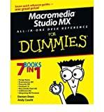 Macromedia Studio MX All-in-One Desk Reference For Dummies (For Dummies (Computer/Tech)) (Paperback) - Common