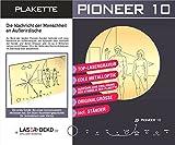 Pioneer 10 - Plakette: Plakette in Originalgröße