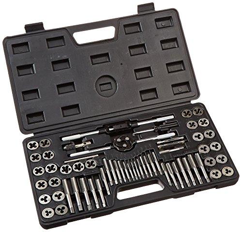 TruePower 02 - 0554 aleación acero Sae/métricas de terrajas y machos, 60 piezas