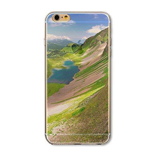 Coque iPhone 7 Housse étui-Case Transparent Liquid Crystal en TPU Silicone Clair,Protection Ultra Mince Premium,Coque Prime pour iPhone 7-Paysage-style 7 20