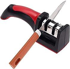 Romino 2 Slots Kitchen Knife Sharpener Tool, 1 Piece (Random Colours)