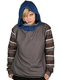 Cosplay Costume Sweat à Capuche Jeu Hoodie Polyester Gris Sweat-shirt Homme Vêtements Top Pull Veste Manteau Pour Adulte