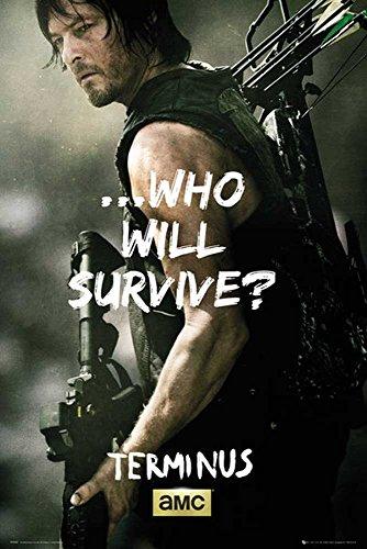 ng Dead, The - Daryl Survive - Größe (cm), ca. 61x91,5 - Poster, NEU - ()