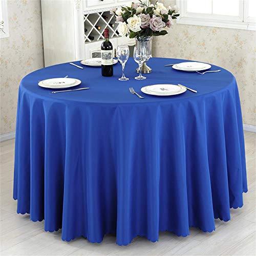 Marineblau Runde Hotel Runde Tischdecke Restaurant Hochzeit Tischdecke Konferenztisch Abdeckung...