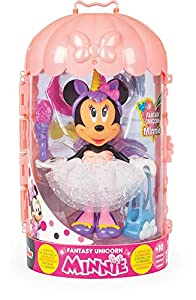 Minnie Mouse- Minnie Fashion Doll Unicornio Juguete, Color Variado, Talla Unica (China 1)