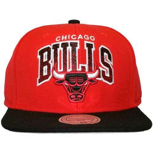 Mitchell & Ness - Casquette Snapback Homme Chicago Bulls Stack