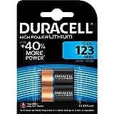 DURACELL CR123-C2 - Batterie al Litio per Macchina Fotografica, Confezione da 2