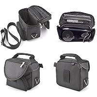 Digicharge Black Hard Carry Case For Garmin Nuvi 200W 205W 215W GPS With Accessory Storage