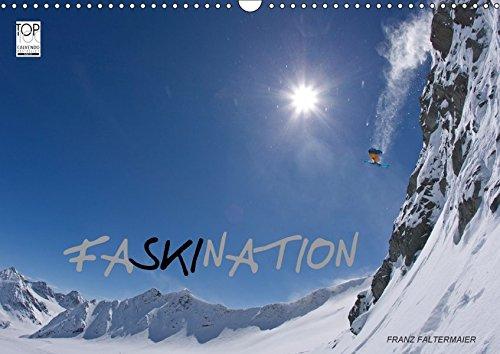 Faskination (Wandkalender 2018 DIN A3 quer): Faszinierende Skimotive meiner letzten Skireisen (Monatskalender, 14 Seiten ) (CALVENDO Sport) [Kalender] [Apr 01, 2017] Faltermaier, Franz