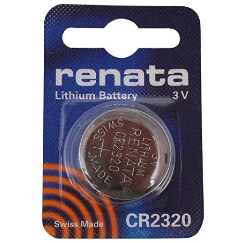 Renata CR2320 3V Lithium Münze Zelle Uhr Batterie DL 2320, ECR 2320, BR 2320 (2 X CR 2320)