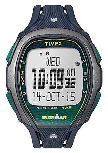 Timex TW5M09800 Montre à quartz pour homme, affichage numérique, bracelet en résine
