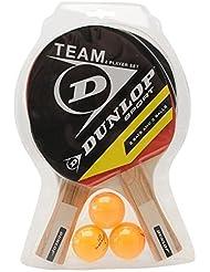 Dunlop Team 2 Player Set Table Tennis Set (2 Bats and 3 Balls) by Dunlop