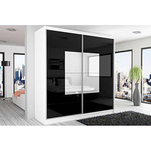 justhome-beauty-armoire-218-200-60-couleur-blanc-mat-noir-laqu-haute-brillance-blanc