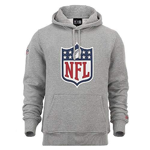 New Era NFL Sweatshirt mit Kapuze Logo XXL Grau (HGR)
