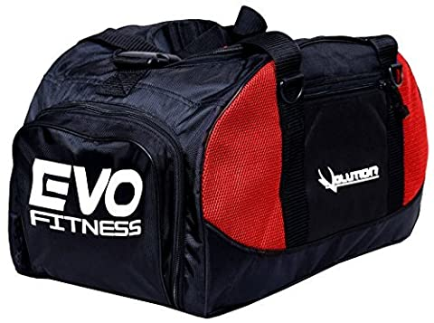 EVO Fitnessstudio Sportausrüstung Tasche Rucksack Seesack Fußball Fitnesstraining MMA Boxen Taschen - Rot