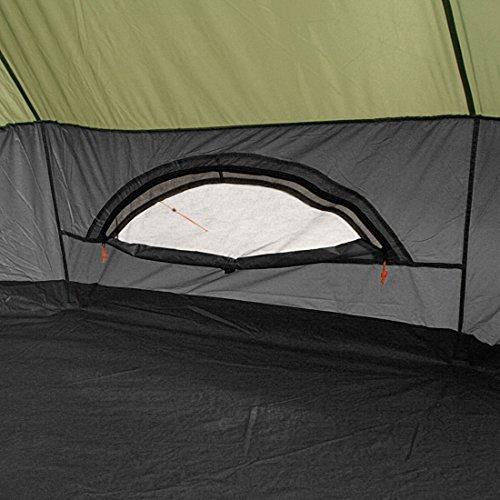 10T Mojave 400 Beechnut - Tipi Zelt mit XXL Wohn- & Schlafbereich, Campingzelt für 4-8 Personen, Indianer Outdoorzelt mit Bodenwanne, wasserdichtes Pyramidenzelt mit 5000mm, Familienzelt mit Transporttasche, Zeltheringen, Abspannleinen und Zeltgestänge - 5