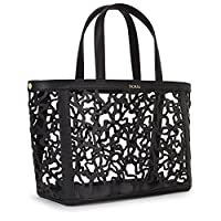 Tous Capazo Mediano Kaos Shock, Shopper para Mujer, Negro (Black), 15x25x32 cm (W x H x L) de Tous