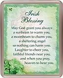 """Fridge Magnet- IRISH BLESSING - ACRYLIC - 3"""" x 3 3/4"""""""