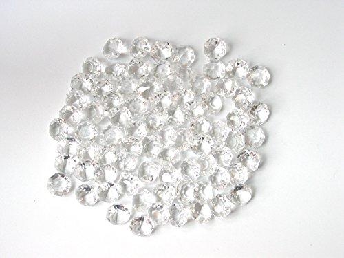 Glas Bead Kronleuchter Beleuchtung Lampe (100 Stück Kristall Glas Octagons 16mm für Lüster - Dekoration - Basteln)