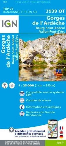 2939OT GORGES DE L'ARDECHE BOURG ST ANDEOL VALLON PONT D'ARC
