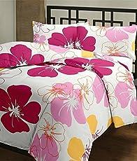 JaipurCrafts WebelKart Designer Collection Floral Ac Microfiber Blanket