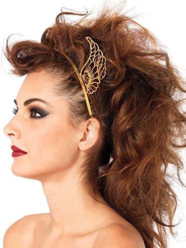 Preisvergleich Produktbild Antike Haarreif mit Flügeln Göttin Hermes gold