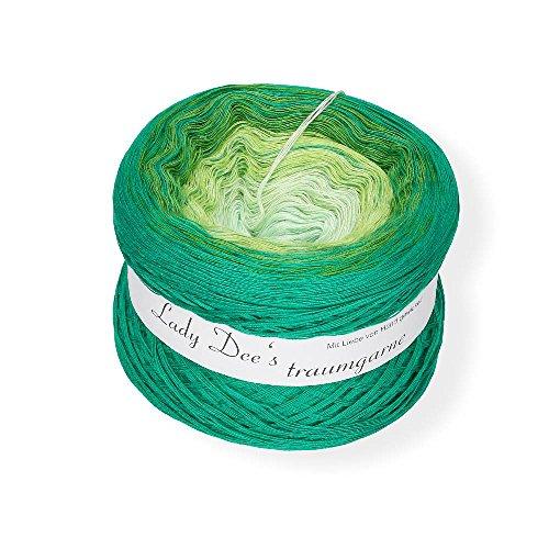 Lady Dee´s Traumgarn Verlaufsgarn, 50 Baumwolle/50 Prozent Polyacryl, Erwachender Frühling, 16 x 16 x 16 cm